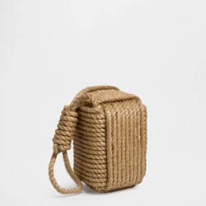 Can't forget the rope element.  The room wouldn't be complete without it and this jute doorstop fits the bill perfectly. £29.99