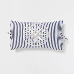 Nothing says nautical like blue and white stripes but the embroidered compass on this one gives it something a little special.  £29.99